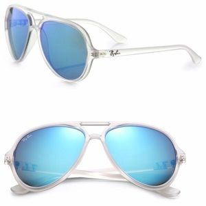 Authentic Ray-bans Cats 5000 Aviator Sunglasses
