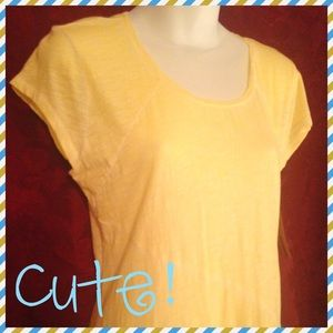"""They Call Me Mellow Yellow "" soft, sunny tee😊😎"