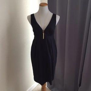 Navy tulip skirt dress!