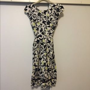 Dorothy Perkins floral dress with mesh Sz 2