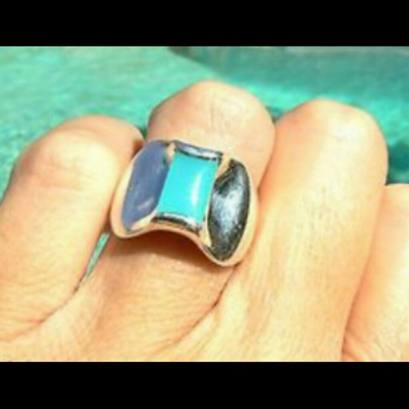 Apogean James Avery Blue Topaz Ring