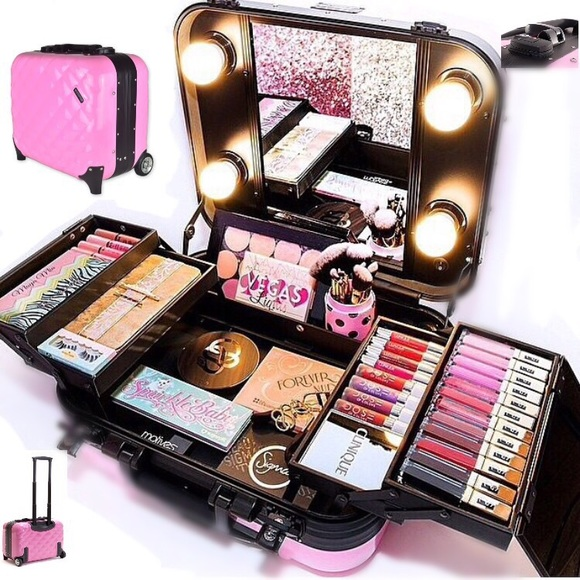 27% off Handbags - PRO TRAVEL MAKEUP KIT WITH WHEELS Ñ ...
