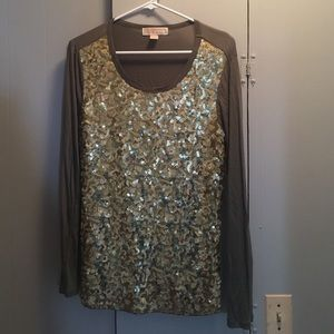 Michael Kors Tops - Michael Kors Sequin Top