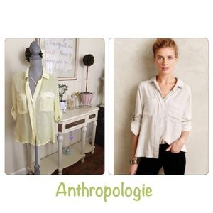 New - Anthropologie tencel shirt