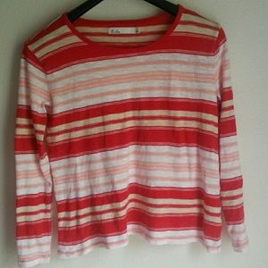 Hi-line by Madewell cotton striped shirt