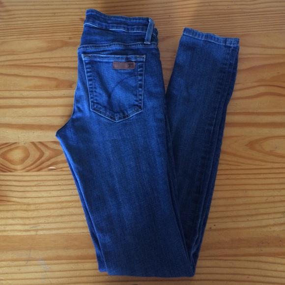"Joe's Jeans ""The Skinny"" Blue Jeans"