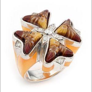 Alan K Jewelry - Murano Glass silver 925 ring by Alan K 2MR217