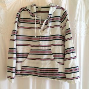 Forever 21 Jackets & Blazers - Cute striped jacket with hood