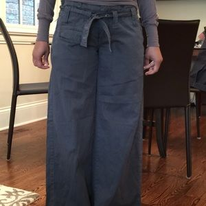 Grey blue cotton pants xs French connection