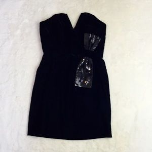 Jill Stuart Black Cocktail Dress