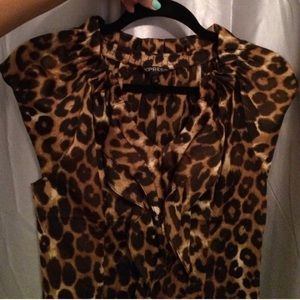 Express cheetah shirt