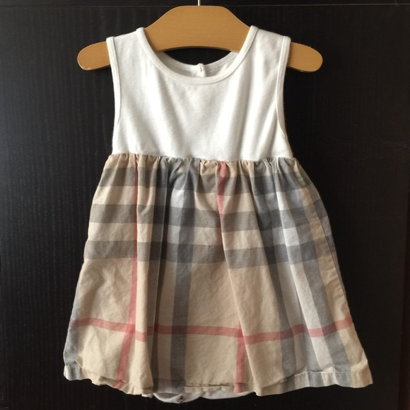 off Burberry Other Burberry Sleeveless Checked Dress