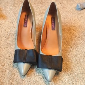 Mojo Moxy Shoes - Gray Pumps