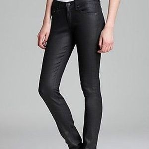 Rag and Bone Coated Skinny Jeans
