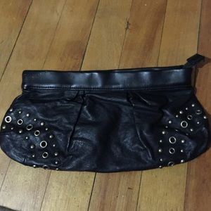 Old Navy faux leather bag/wrislet
