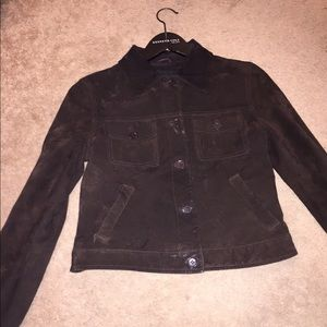 Kenneth Cole Brown suede jacket