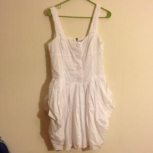 All saints white dress
