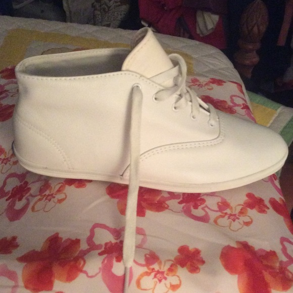 Keds Shoes | Cool White Leather High