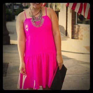 ASOS Dresses & Skirts - Pink Drop Waist Dress