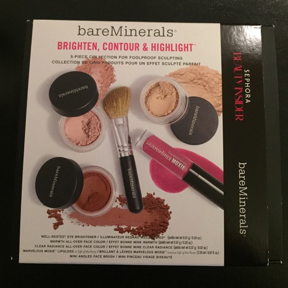 Bare Escentuals Other Bareminerals Brighten Contour Highlight Kit
