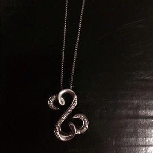 Kay Jewelers Jewelry - Kay jewelers (Open Heart Necklace)