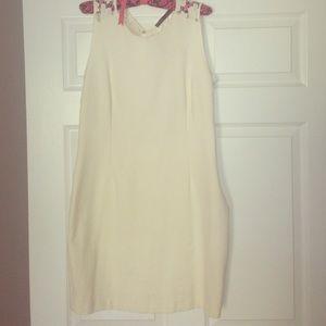 White Zara Shift Dress