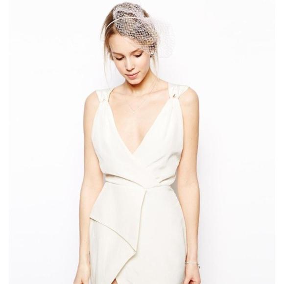 Cream and white dresses
