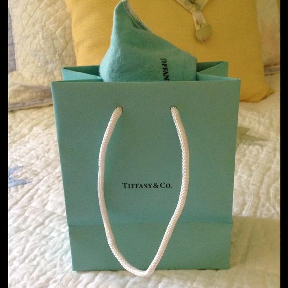 e09e211de5 Tiffany & Co. Accessories | Small Tiffany Paper Bag | Poshmark