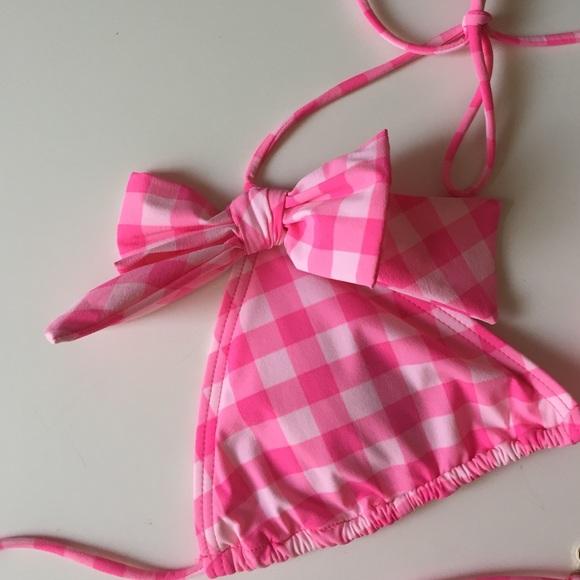 Juicy couture pink bikini