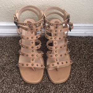 Shoes - Gladiator block sandals