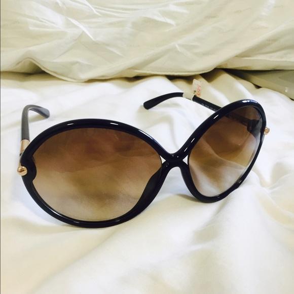 23d53b5d06 Tom Ford black RITA sunglasses