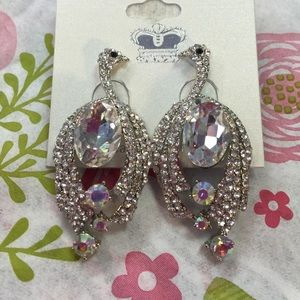 J Prince Jewelry - J Prince Crystal Bird Boutique Earrings