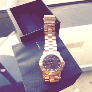 Marc Jacobs Rose Gold Watch - perfect condition