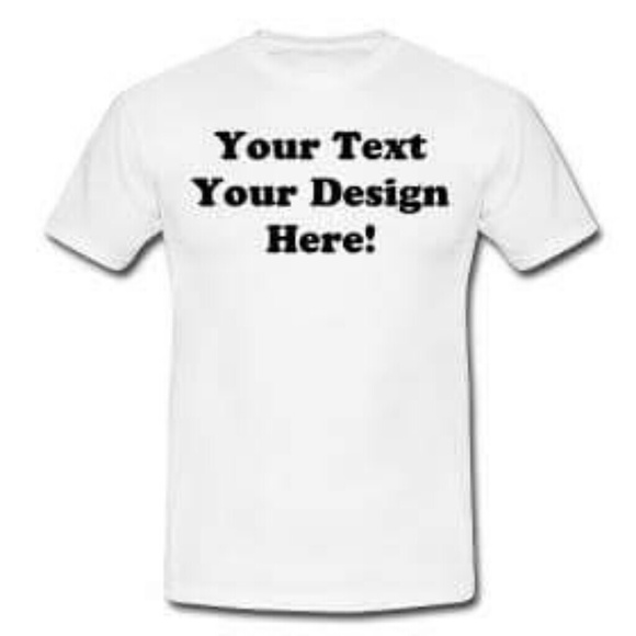 50 off tops make your own t shirt from fide 39 s closet on Build your own t shirts
