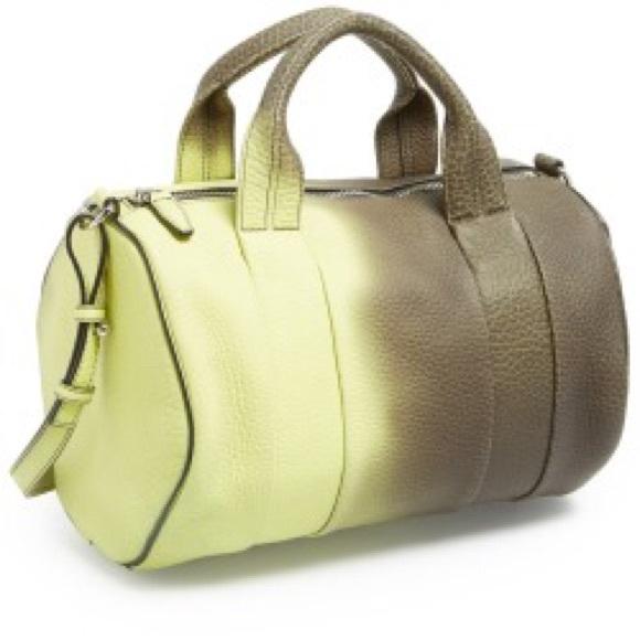 09a57679148a Alexander Wang Handbags - Alexander wang heat sensitive color change Rocco