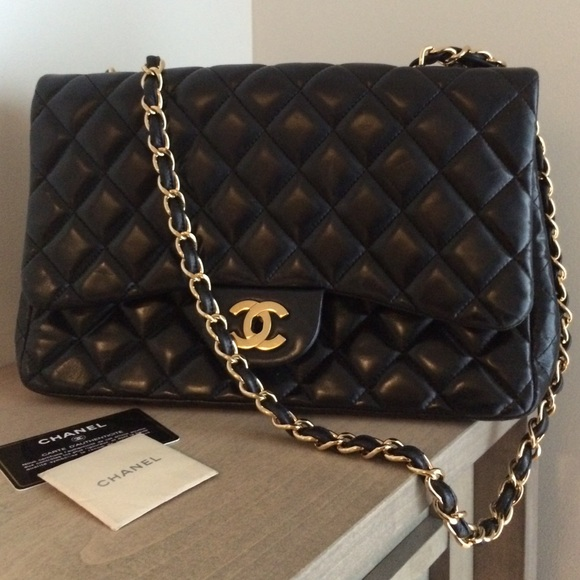 Chanel handbag with authentication