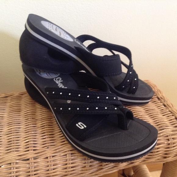 aa9520bf9e16 Skechers Cali Cycler wedge sandals. 💙 NWOT. M 556cd4c744adba39d101453f