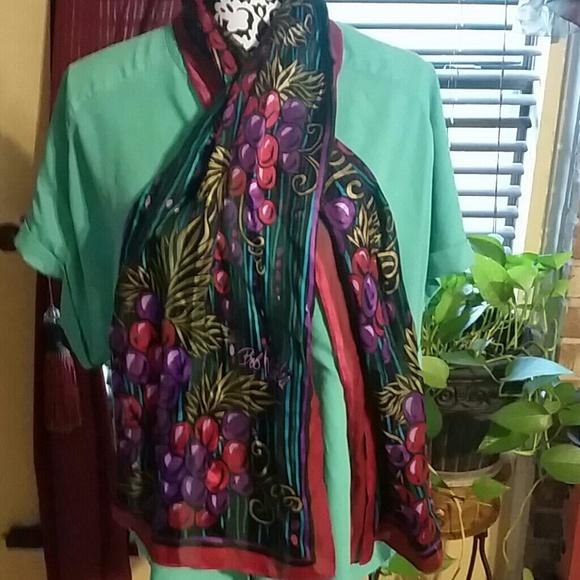 bob mackie bob mackie scarf from kathy s closet on poshmark