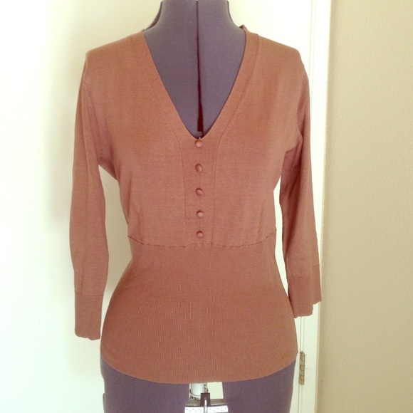 37 Off World Republic Clothing Co Tops Cute Brown Top