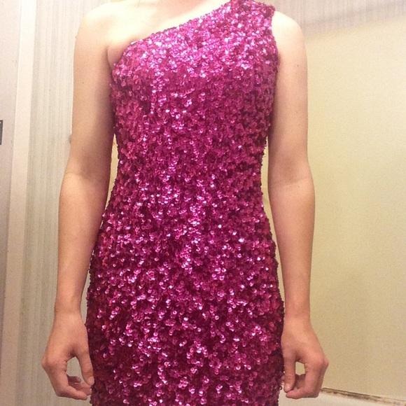 Pink Sequin Dress,pink sequin dress,