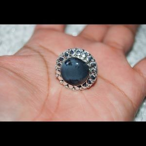 handmade & handcrafted gemstone jewelry Jewelry - ⚠️SALE⚠️Handmade Round Merlinite Ring Size 6.75