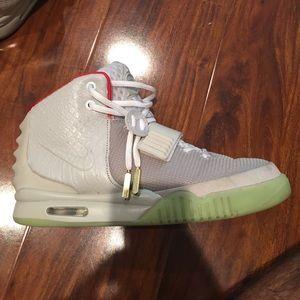 d15c510b68de1 Nike Shoes - Nike Air Yeezy 2 Pure Platinum