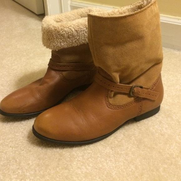 30 zara boots zara brown boots from s closet