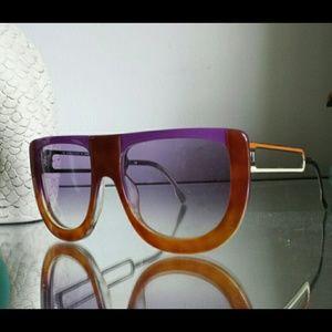 f54379c848a7 FENDI Accessories - FENDI Havana Runway Sunglasses 5198 221