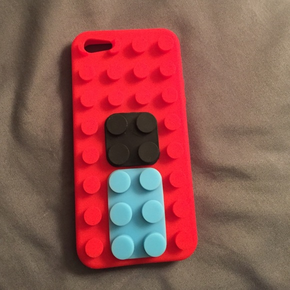 Red Lego Phone Case 5/5S From