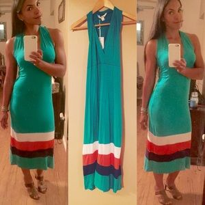 5th & Love Jade Green Maxi Dress