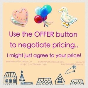 Prices are negotiable - use the OFFER button!