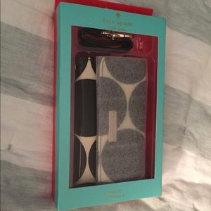 Kate Spade iPhone 5/5s case wallet