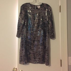 Brand new Parker sequin mini cocktail dress