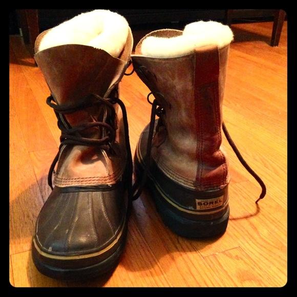 4881f1a7943ac SOREL Bighorn Insulated Winter Boots (Men's)